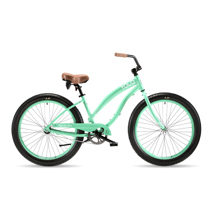 Ride the beach in style.  These bikes are super durable for all around riding and beach cruising. High quality with vibrant colors that deliver a riding experience of unrivaled comfort and style.